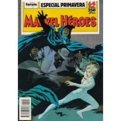 MARVEL HÉROES: ESPECIAL PRIMAVERA 1989