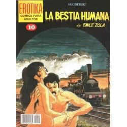 EROTIKA Nº 10 LA BESTIA HUMANA