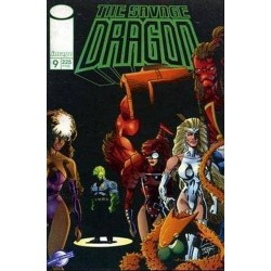 THE SAVAGE DRAGON Nº 9