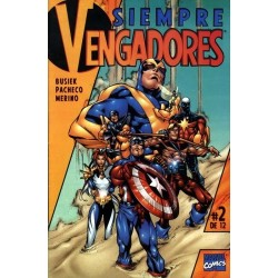 SIEMPRE VENGADORES Nº 2
