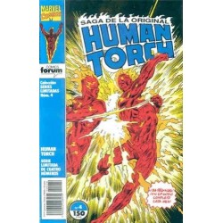 SERIES LIMITADAS Nº 4 HUMAN TORCH 4 DE 4