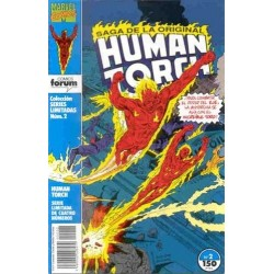 SERIES LIMITADAS Nº 2 HUMAN TORCH 2 DE 4