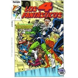 LOS 4 FANTÁSTICOS Nº 61