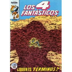 LOS 4 FANTÁSTICOS Nº 45