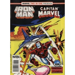 IRON MAN Nº 46 MARVEL TWO IN ONE