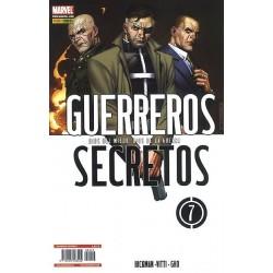 GUERREROS SECRETOS Nº 7