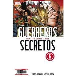 GUERREROS SECRETOS Nº 6 REINADO OSCURO