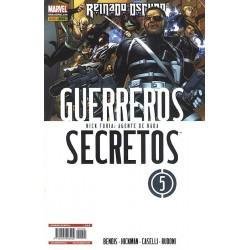 GUERREROS SECRETOS Nº 5 REINADO OSCURO