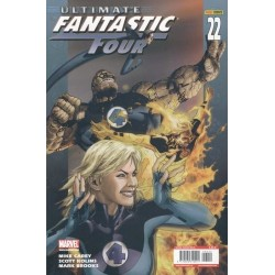 ULTIMATE FANTASTIC FOUR Nº 22