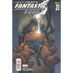 ULTIMATE FANTASTIC FOUR Nº 20