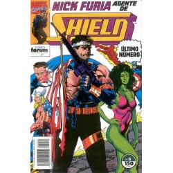 NICK FURIA: AGENTE DE SHIELD VOL.2 Nº 6