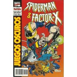 SPIDERMAN Y FACTOR-X: JUEGOS OSCUROS Nº 1