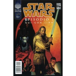 STAR WARS EPISODIO 1 Nº 3 QUI-GON JINN