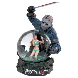 FRIDAY THE 13th SNOW GLOBE