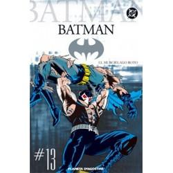 BATMAN COLECCIONABLE Nº 13 EL MURCIÉLAGO ROTO