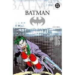 BATMAN COLECCIONABLE Nº 6 AÑO TRES