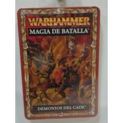 DEMONIOS DEL CAOS CARTAS MAGIA DE BATALLA