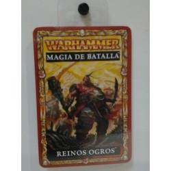 REINOS OGROS CARTAS MAGIA DE BATALLA