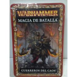 GUERREROS DEL CAOS CARTAS MAGIA DE BATALLA