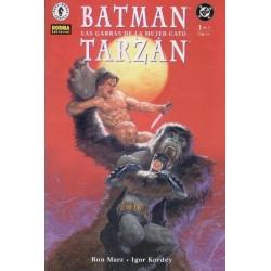 BATMAN / TARZAN: LAS GARRAS DE LA MUJER GATO Nº 1
