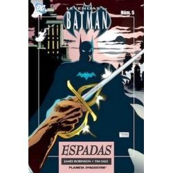 LEYENDAS DE BATMAN Nº 5 ESPADAS