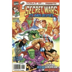 WHAT IF VOL.2 Nº 27 SECRET WARS