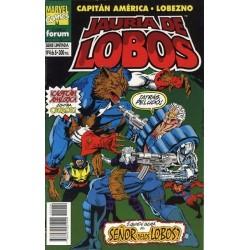 CAPITÁN AMÉRICA: JAURIA DE LOBOS Nº 4