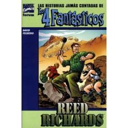 LAS HISTORIAS JAMÁS CONTADAS DE LOS 4 FANTÁSTICOS Nº 2 REED RICHARDS