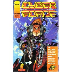 CYBER FORCE VOL.1 Nº 4