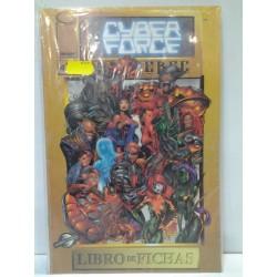 LIBRO DE FICHAS Nº 4 CYBER FORCE UNIVERSE