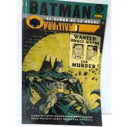 BATMAN: EL SEÑOR DE LA NOCHE Nº 16