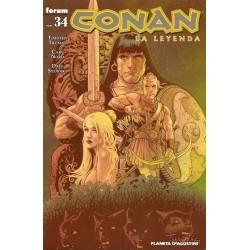 CONAN LA LEYENDA Nº 34