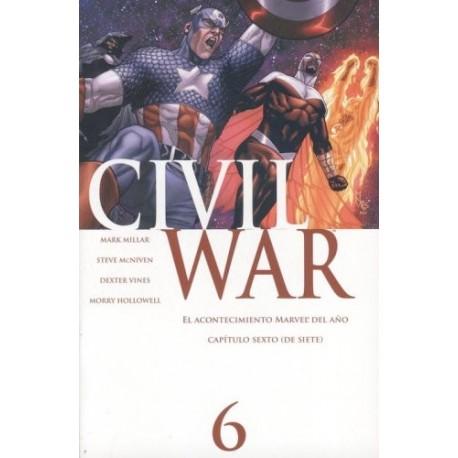 CIVIL WAR Nº 6