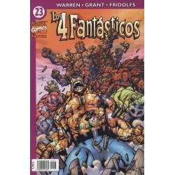LOS 4 FANTÁSTICOS VOL.4 Nº 23