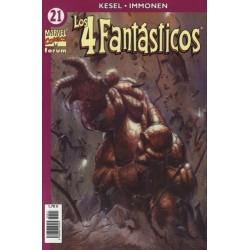 LOS 4 FANTÁSTICOS VOL.4 Nº 21