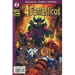 LOS 4 FANTÁSTICOS VOL.4 Nº 2
