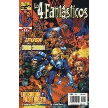 LOS 4 FANTÁSTICOS VOL.3 Nº 18