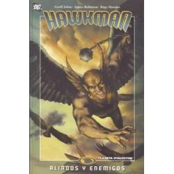 HAWKMAN Nº 2 ALIADOS Y ENEMIGOS