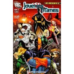 DC PRESENTA Nº 9 JÓVENES TITANES Nº 5