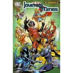 DC PRESENTA Nº 15 JÓVENES TITANES Nº 8