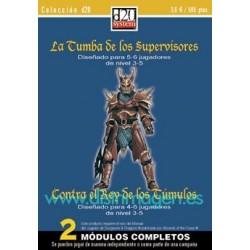 COLECCIÓN D20: LA TUMBA DE LOS SUPERVISORES+CONTRA EL REY DE LOS TÚMULOS