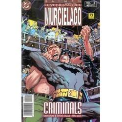 BATMAN: LEYENDAS DEL MURCIÉLAGO Nº 2 CRIMINALS