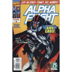 ALPHA FLIGHT VOL.2 Nº 2