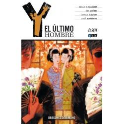 Y, EL ÚLTIMO HOMBRE Nº 8 DRAGONES DE KIMONO