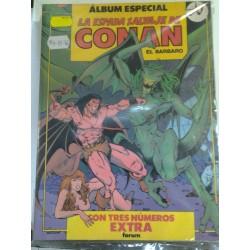 LA ESPADA SALVAJE DE CONAN ÁLBUM ESPECIAL Nº 74-75-76
