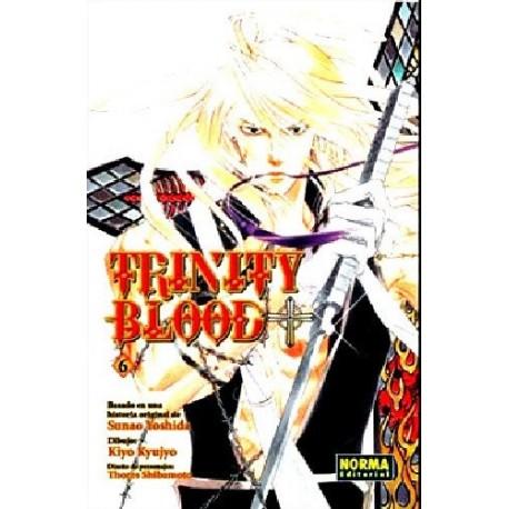 TRINITY BLOOD Nº 6