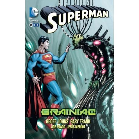 SUPERMAN DE GEOFF JOHNS Nº 4 BRAINIAC