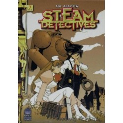 STEAM DETECTIVES Nº 7