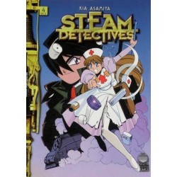 STEAM DETECTIVES Nº 4
