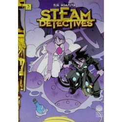 STEAM DETECTIVES Nº 3